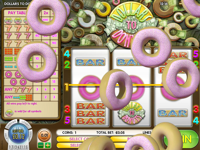 Spiele Dollars To Donuts - Video Slots Online